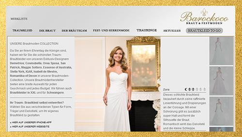 Brautmodengeschäft in Leipzig - Barockoco BRAUT & FESTMODEN